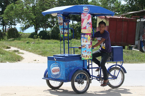 Tricycle auf Palawan