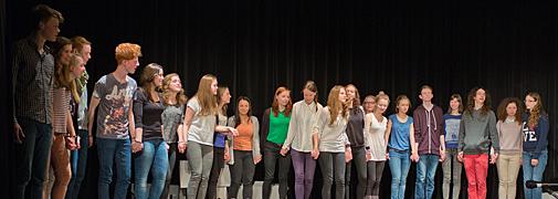 Theaterprojekt Ratsgymnasium Stadthagen/Slupca