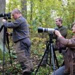 Fotoshooting mit dem Waldkauz :-)