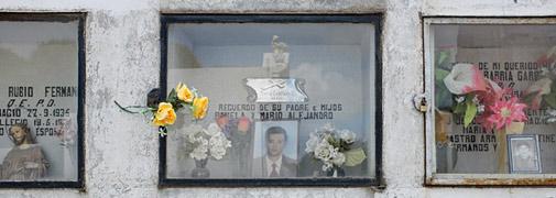 Auf dem Friedhof in Punta Arenas