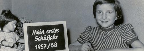 Erstklässler 1957
