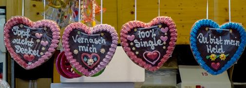 Jahrmarkt in Bückeburg - Herzen - Herzen - Herzen