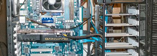 Innenleben eines Computers