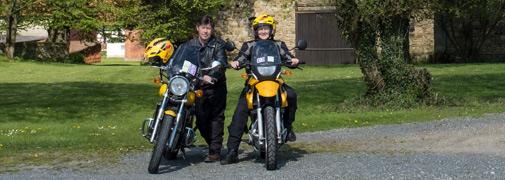 Motorradtour nach Apelern
