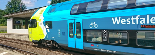 Westfalenbahn in Stadthagen