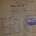 Sichtvermerk - Pass