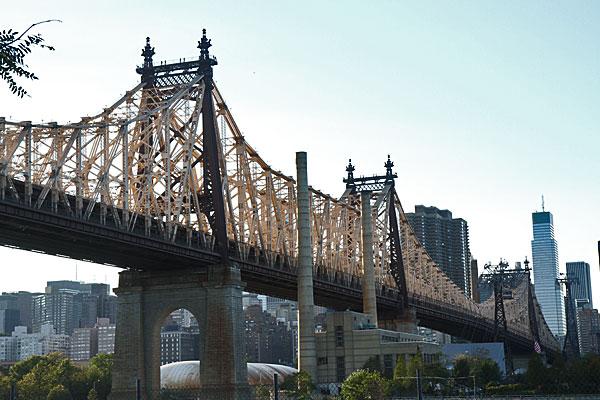 Queens Bridge in New York