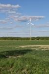 Windkraftanlage im Mühlenkreis