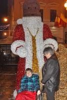 Evi und Kati auf dem Weihnachtsmarkt in Temesvar am 02.12.2012