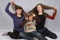 Thea, Josua und Kjara