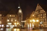 Stadthagen - Marktplatz - Martinikirche