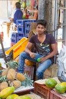 Inder auf dem Markt in Mapusa
