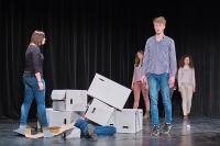 """Musiktheaterprojekt: """"Nichts"""""""