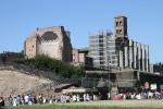Rom - Blick vom Kolosseum