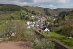 Blick auf den Ort Neuerburg