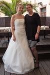Jana mit ihrer Mutter