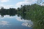 Ein See in der Nähe von Minden
