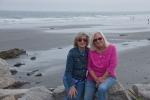 Am Strand mit Jane