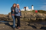 Mit Jane am Nubble