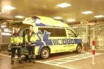Der Rettungswagen in Frankfurt