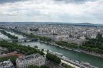 Blick vom Eiffelturm - Mai 2015