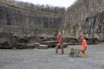 Höhlenforscher Schillat-Höhle
