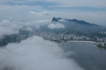 Wolken am Zuckerhut - Rio de Janeiro