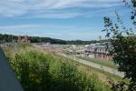 Baustelle Neubau Weserschleuse Minden