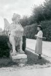 Wien - Im Park von Belvedere - Juli 1940