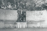 Strauß - Lanner - Denkmal - Wien - Juli 1940