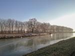 Am Mittellandkanal im Februar 2017