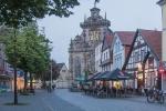 Blick auf die Marktkirche Bückeburg