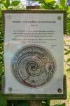 Hinweistafel Mausoleum Schloss Baum