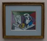 Pablo Picasso - Glas und Krug