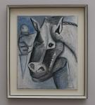 Pablo Picasso - Pferdekopf
