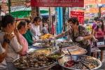 12 - Marktfrau in Chinatown in Bangkok